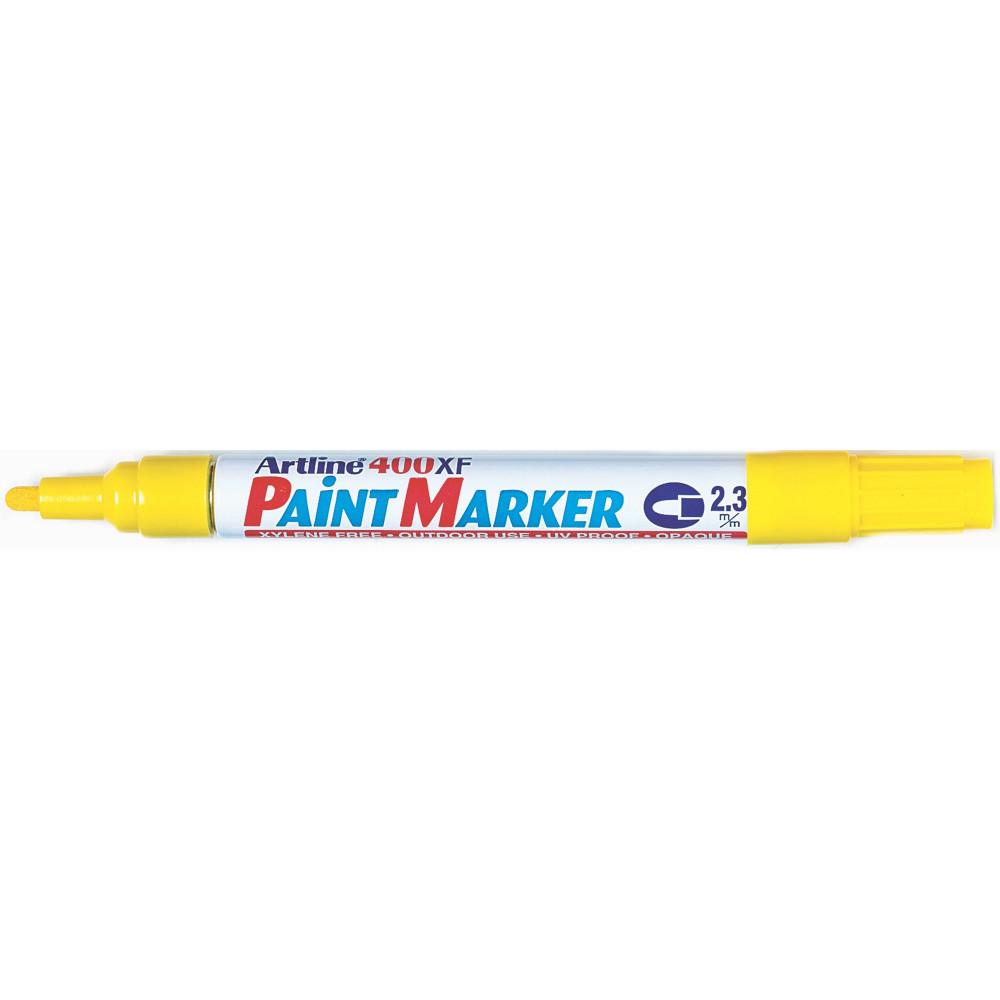 Artline 400Xf Paint Marker Medium Bullet 2.3mm Yellow