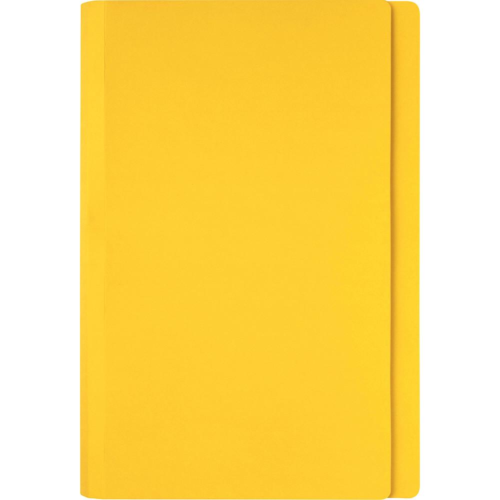 Marbig Manilla Folders Foolscap Yellow Box Of 100