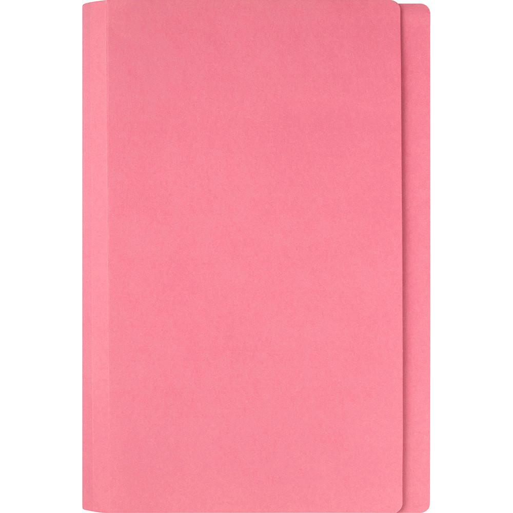 Marbig Manilla Folders Foolscap Pink Box Of 100
