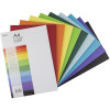 Jasart Cover Paper A4 125gsm Assorted Ream of 500