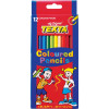 Texta Regular Coloured Pencils Assorted Pack Of 12