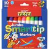 Texta Jumbo Smarttip Marker Assorted Pack Of 10