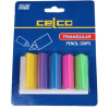 Celco Pencil Grips Card 5 Assorted Colours Pack Of 5