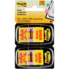 POST-IT FLAGS 680-SH2 11.9mm x 43.2mm Yellow Pack of 100