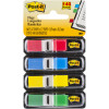 POST-IT FLAGS 683-4 11.9mm x 43.2mm Assorted Pack of 140