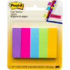 POST-IT PAGE MARKERS 670-5AU 12.7mm x 44.4mm Assorted Pack of 500