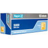 Rapid 13/10 High Performance Staples Fine Wire Galvanised Box Of 5000