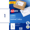 AVERY L7167 SMOOTH FEED LABEL Laser 1 Up 199.6 x 289.1mm Box of 100
