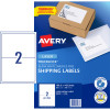AVERY L7168 MAILING LABELS Laser 2 UP 199.6 x 143.5mm Box of 100