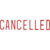 XStamper Stamp CX-BN 1119 Cancelled Red