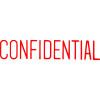 XStamper Stamp CX-BN 1130 Confidential Red
