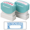 XSTAMPER STAMP CX-BN 1203 RECEIVED/DATE BLUE