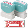 XStamper Stamp CX-BN 1197 Scanned With Date Red