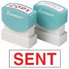 XStamper Stamp CX-BN 1567 Sent Red