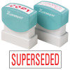 XSTAMPER -1 COLOUR -TITLES R-Z 1366 Superseded Red