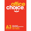 OFFICE CHOICE LAMINATING POUCH A3 125 micron Box of 100