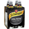 SCHWEPPES SODA WATER 300ml Bottle Pack of 4