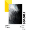 REEVES BLACK SKETCH PAD A3 140 GSM 20 Sheets