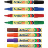 Artline 70 Permanent Marker Bullet 1.5mm 8 Assorted Pack Of 12