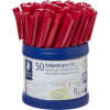 STAEDTLER 430 BALLPOINT PEN 1.0mm Red - Pack of 50