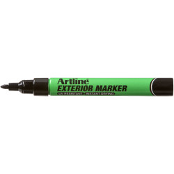 ARTLINE EXTERIOR PERMANENT Marker Black