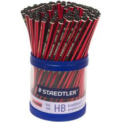 STAEDTLER TRADITION PENCILS HB Class Pack 100
