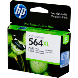 HP INK CARTRIDGE CB322WA - 564XL Photo Black