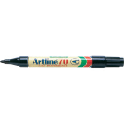 Artline 70 Permanent Marker Bullet 1.5mm Black