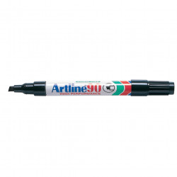 Artline 90 Permanent Marker Chisel 2-5mm Black