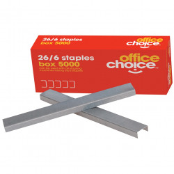 Office Choice Staples No.56 26/6 Box Of 5000