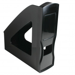 ESSELTE NOUVEAU MAGAZINE FILE Black