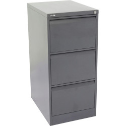 GO 3 DRAWER FILING CABINET H1016mm x W460mm x D620mm Graph Ripple