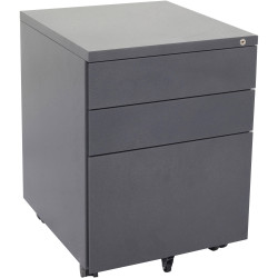 RAPIDLINE MOBILE PEDESTAL 3DR 2 Std 1 Filing Graphite Ripple W450mm x D472mm x H610mm