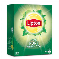 LIPTON GREEN TEA BAGS Pack of 100