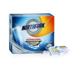NORTHFORK DISHWASHING TABLETS Premium All in 1 Pack of 50