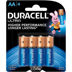 DURACELL ULTRA BATTERY AA Card of 4