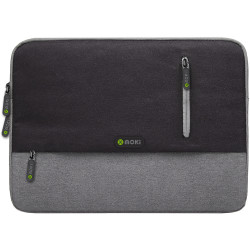 Moki Odyssey Sleeve Fits up to 13.3 Inch Laptop Black / Grey