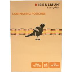 Bibbulmun Laminating Pouches A4 80 Micron Pack of 100