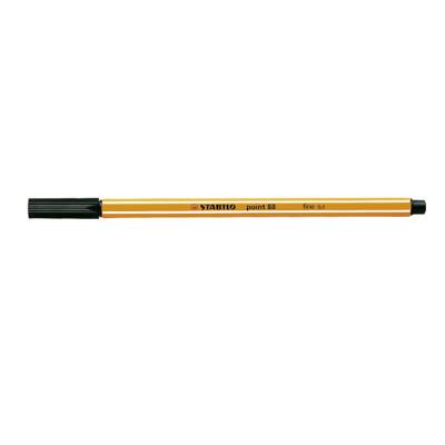 Stabilo Point 88 Fineliner Pen Fine 0.4mm Black