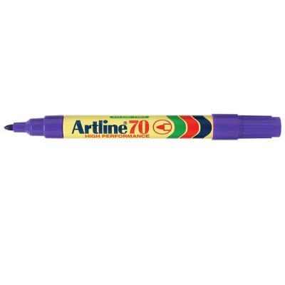 Artline 70 Permanent Marker Bullet 1.5mm Purple Box Of 12