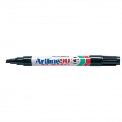 Artline 90 Permanent Marker Chisel 2-5mmBlack