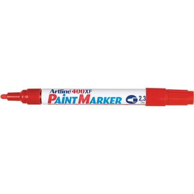 Artline 400Xf Paint Marker Medium Bullet 2.3mm Red