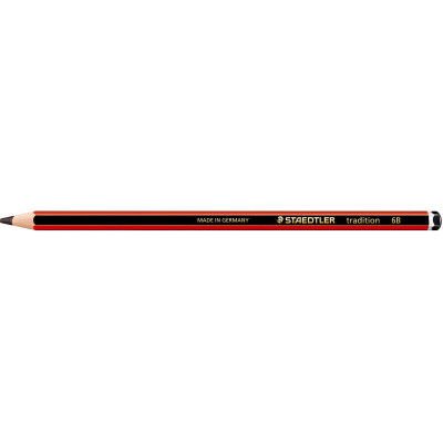 Staedtler 110 Tradition Graphite Pencil 6B