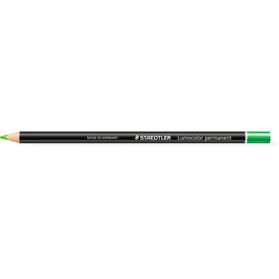 Staedtler 108 Lumocolour Glasochrom Permanent Pencil Green