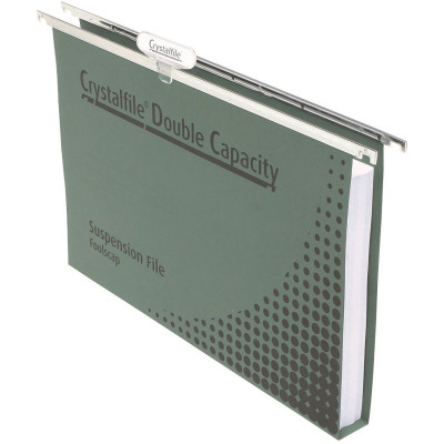 Crystalfile Suspension Files Enviro Double Capacity With Tabs & Inserts Box Of 50