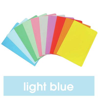 Marbig Manilla Folders Foolscap Light Blue Pack Of 20