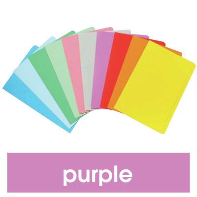Marbig Manilla Folders Foolscap Purple Pack Of 20