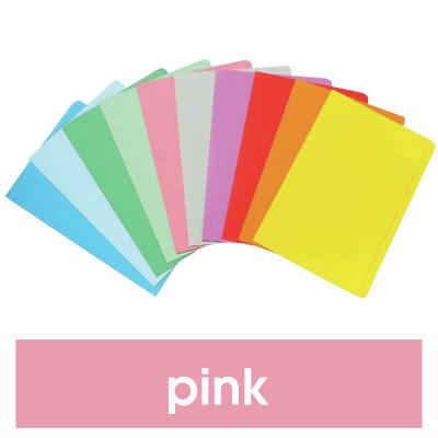 Marbig Manilla Folders Foolscap Pink Pack Of 20