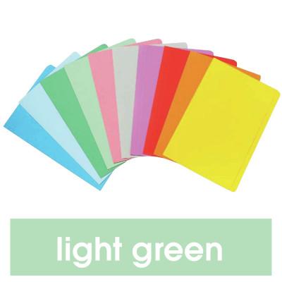 Marbig Manilla Folders Foolscap Light Green Pack Of 20