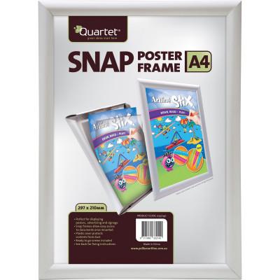 Quartet Instant Poster Frames A4 25mm Aluminium